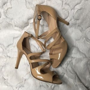 Banana Republic leather high heels size 8 1/2M